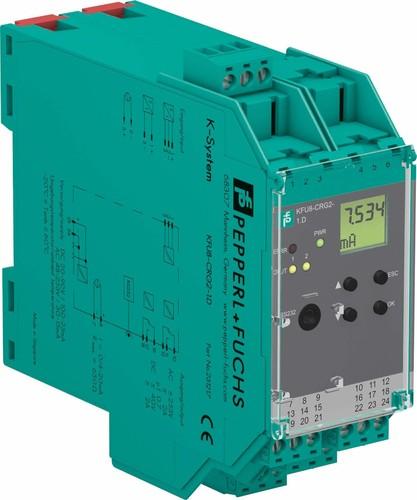 Pepperl+Fuchs Fabrik Transmitterspeisegerät mit Grenzwert KFU8-CRG2-1.D