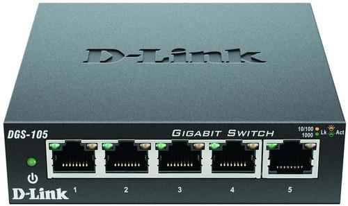 DLink Deutschland Gigabit Switch 5-Port Layer 2 DGS-105/E