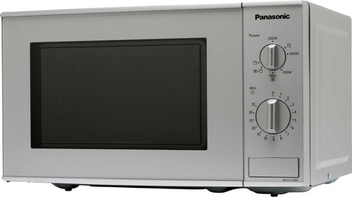 Panasonic SDA Mikrowelle m.Grill 20l,si NN-K121MMEPG