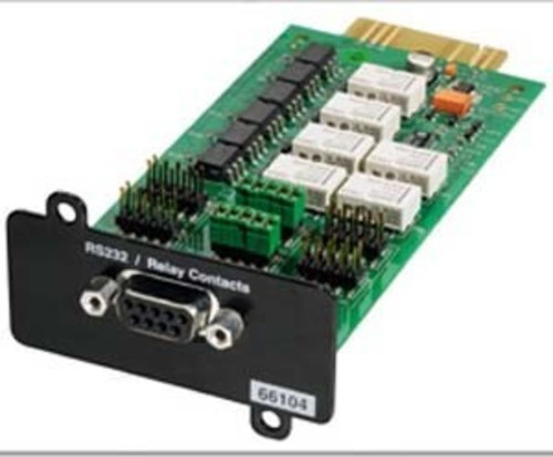 Eaton Management Card Contacts u RS232/Serial Relay-MS Card