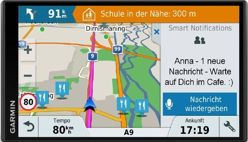 Garmin Navigationssystem 17,7cm-Display DriveSmart61LMT-DCE