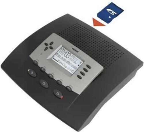 Tiptel Anrufbeantworter für SD-Karte tiptel 540 SD
