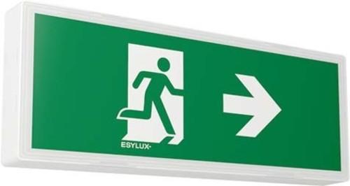 ESYLUX LED-Notleuchte weiß AP+Wandmont.8h 14m SLXELLED #EN10077616