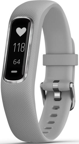 Garmin Fitness-Tracker hellgrau/silber vivosmart4 hgr/si SM