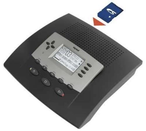 Tiptel Anrufbeantworter für SD-Karte tiptel 545 SD