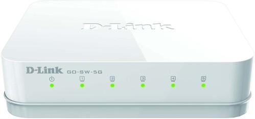 DLink Deutschland Gigabit Desktop Switch 5-Port GO-SW-5G/E