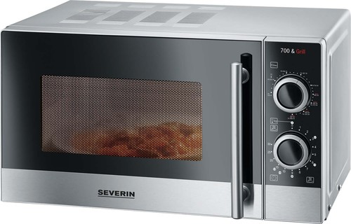 Severin Mikrowelle m.Grill 700/900W MW 7874 si/eds