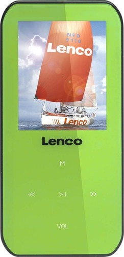 LENCO MP3/MP4/WMA-Player 4GB,grün XEMIO-655 GREEN