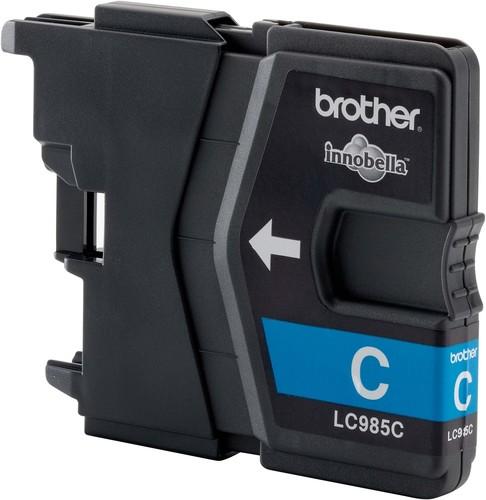 Brother Tintenpatrone Cyan LC-985C