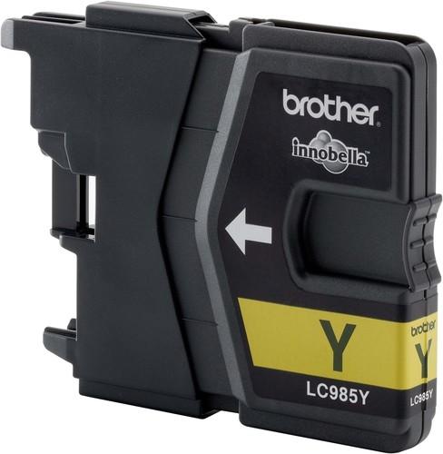 Brother Tintenpatrone gelb LC-985Y