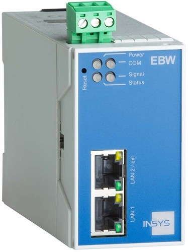 Insys Industrie LAN-Router m.NAT, VPN, Firewall EBW-E 100 1.2
