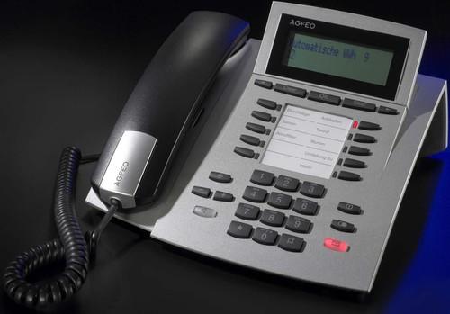 Agfeo Systemtelefon schnurgebunden ST 22 Up0/S0 si