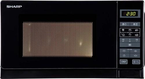 Sharp Mikrowelle 20L 800W R242BKW