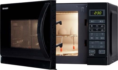 Sharp Mikrowelle 2in1 20L 800/1000W R642BKW