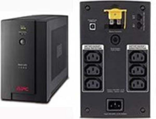 APC Back-UPS 1400VA IEC Ausgänge BX1400UI