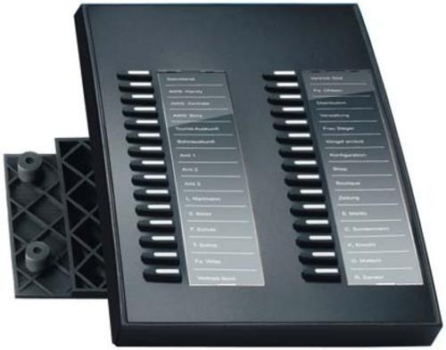 Auerswald Tastenerweiterung für COMfortel 3500 COMf.Xtension 300 sw