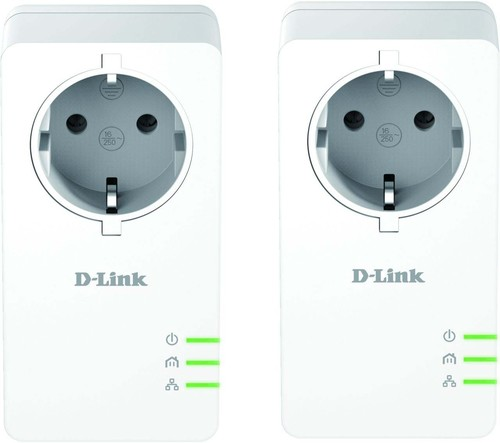 DLink Deutschland Schuko Powerline AV2 Kit 1000Mbit DHP-P601AV/E