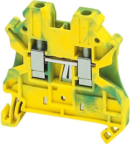 Schneider Electric Erdungsklemme 4qmm, gr-ge NSYTRV42PE