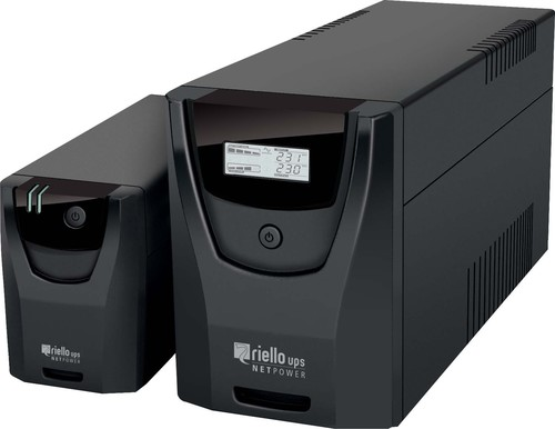 Riello UPS Line-Interakt. USV-Anlage NetPower 800VA NPW 800