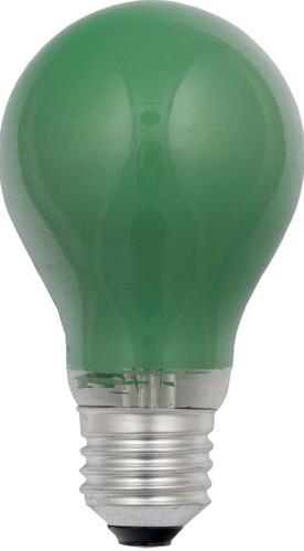 Scharnberger+Hasenbein Glühlampe B60x105mm E27 230V 40W grün 40251