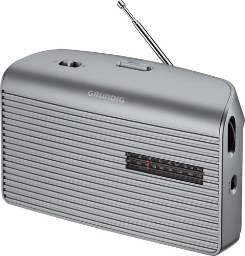 Grundig Radio Music60 silver