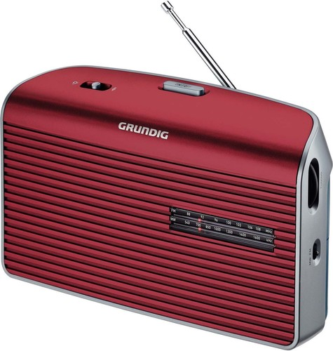 Grundig Radio Music60 red/silver