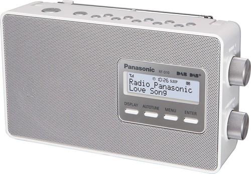 Panasonic Deutsch.CE DAB+ Radio RFD10EGW weiß