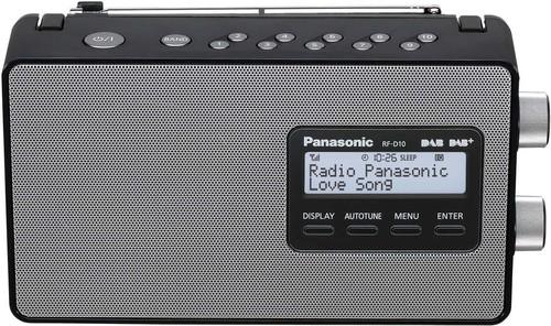 Panasonic Deutsch.CE DAB+ Radio RFD10EGK sw