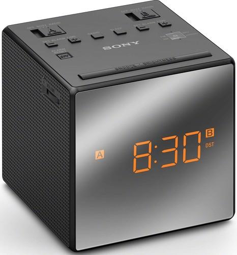 Sony Uhrenradio schwarz ICFC1TB.CED