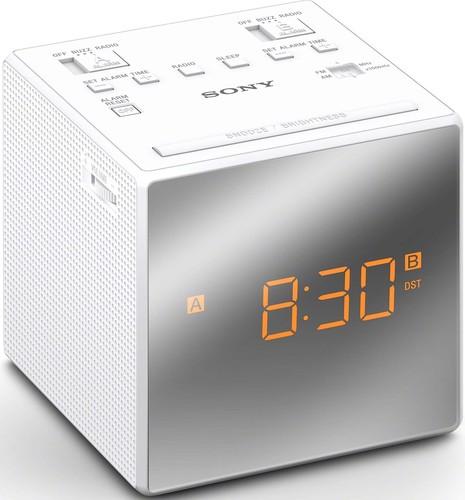 Sony Uhrenradio weiß ICFC1TW.CED