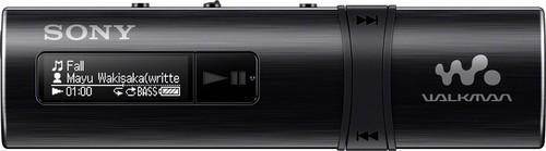 Sony MP3-Player m.FM-Tuner 4GB,USB WM,schwarz NWZB183FB.CEW