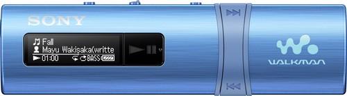 Sony MP3-Player m.FM-Tuner 4GB,USB WM,blau NWZB183FL.CEW