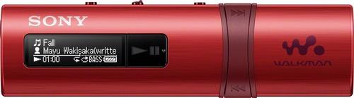 Sony MP3-Player m.FM-Tuner 4GB,USB WM,rot NWZB183FR.CEW
