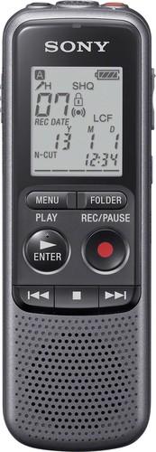 Sony Diktiergerät 4GB,USB-Anschl.,sw ICDPX240.CE7