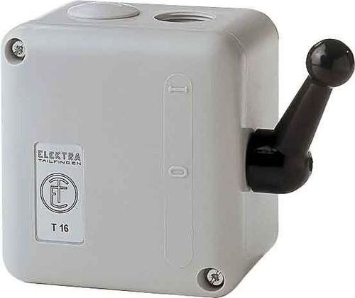 Elektra Tailfingen Wendeschalter isogekapselt, IP52 TWT 16