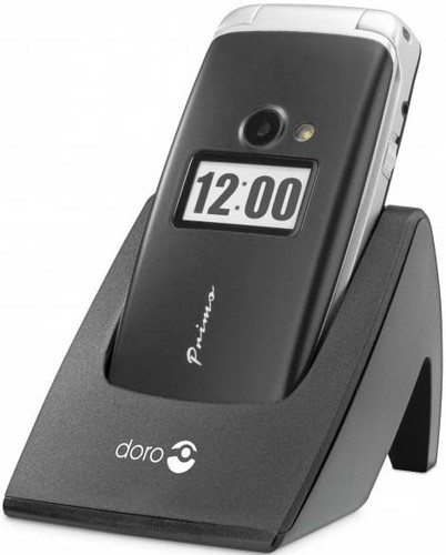 doro GSM Mobiltelefon schwarz doro Primo 413 sw