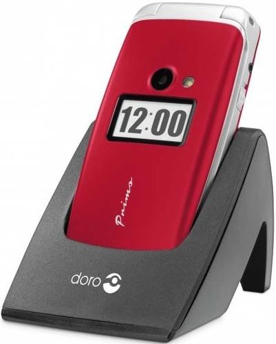 doro GSM Mobiltelefon rot doro Primo 413 rt