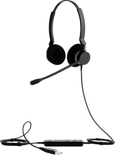 GN Audio Headset beidohrig schnurgebunden, USB JabraBIZ2300USBDuoMS
