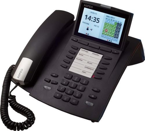 Agfeo Systemtelefon VoIP schwarz ST 45 IP sw
