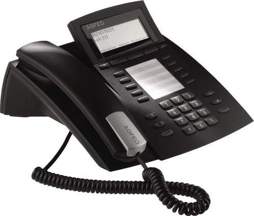Agfeo Systemtelefon schwarz ST 42 IP sw