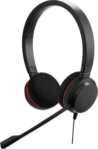 GN Audio Headset beidohrig schnurgebunden JabraEvolve20UCDuo