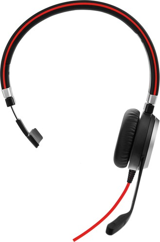 GN Audio Headset einohrig schnurgebunden JabraEvolve40MSMono