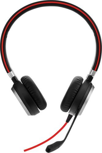 GN Audio Headset beidohrig schnurgebunden JabraEvolve40UCDuo