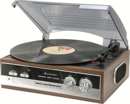Soundmaster Plattenspieler/Radio 70iger Jahr Design PL186H