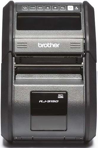 Brother Etikettendrucker mobil WLAN-Schnittstelle RJ-3150