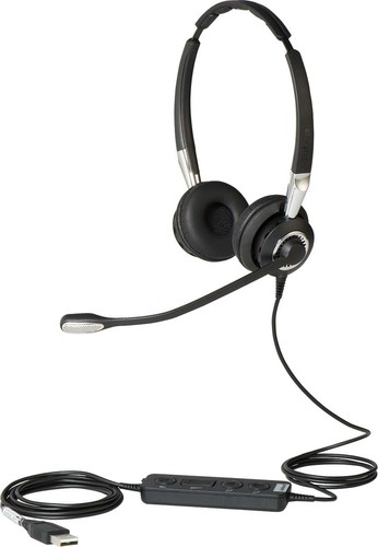 GN Audio Headset beidohrig schnurgebunden Jabra BIZ2400IIDuoCC
