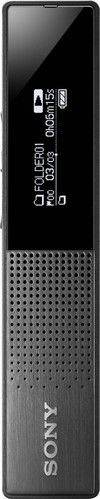 Sony Diktiergerät 16GB,Super Slim ICDTX650B.CE7
