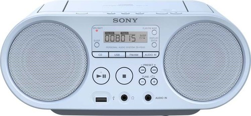 Sony Radio/CD/USB-Player AM FM, bl ZSPS50L.CED
