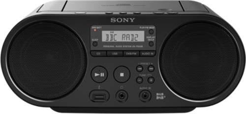 Sony Radio/CD/USB-Player DAB ZSPS55B.CED
