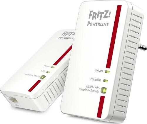 AVM Fritz!Powerline Set,WLAN+Adapter Fritz!Powerl1240ESET